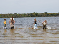 family seining event