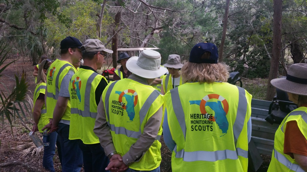Heritage Monitoring Scout training